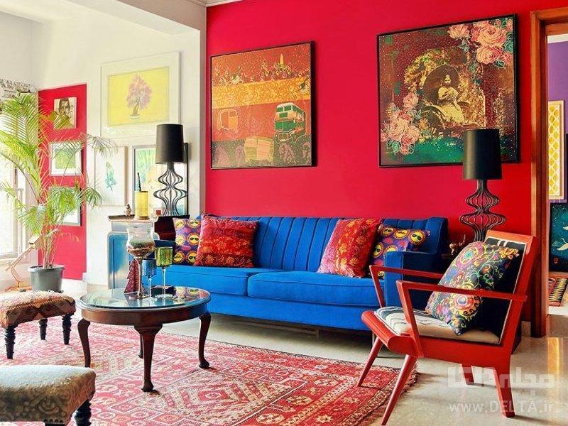 مهمانی رنگ ها در خانه شما