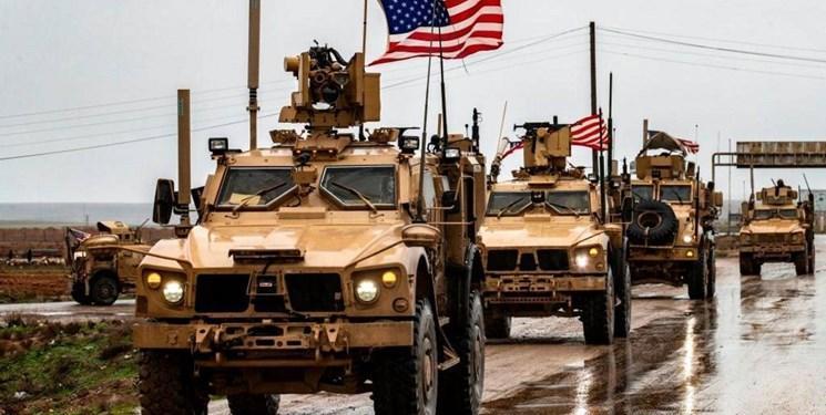 اسپوتنیک: آمریکا ده ها خودروی زرهی را از عراق به سوریه اعزام کرد