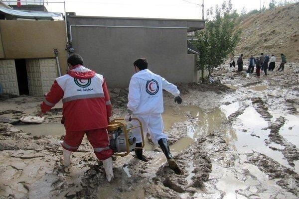 امدادرسانی به 3300 نفر در حوادث جوی 10 روز گذشته