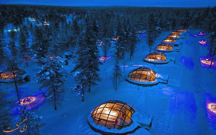 معروفترین هتل های یخی در دنیا
