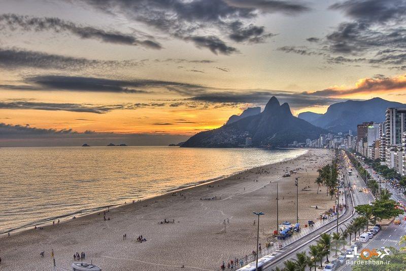 ساحلی که منبع الهام شاعران و هنرمندان است، عکس