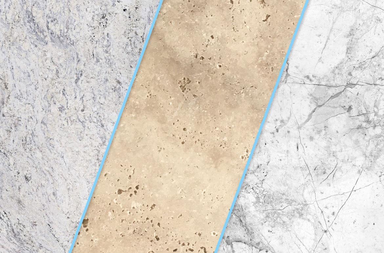 ویژگی سنگ های ساختمانی و کاربرد هریک را بشناسید: گرانیت، مرمر و تراورتن