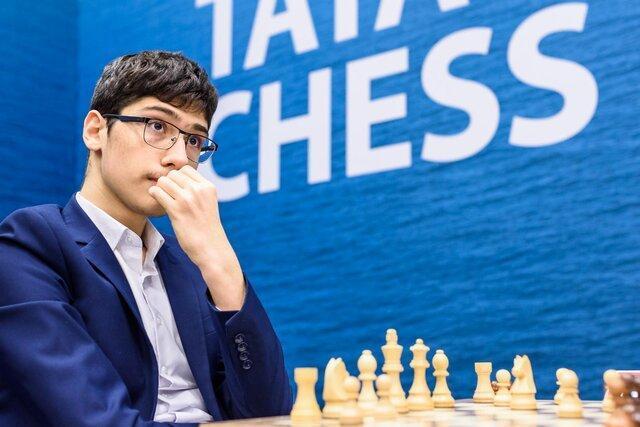 فیروزجا در مقابل مرد شماره دو شطرنج دنیا باخت، فیروزجا همچنان بدون امتیاز در قعر جدول