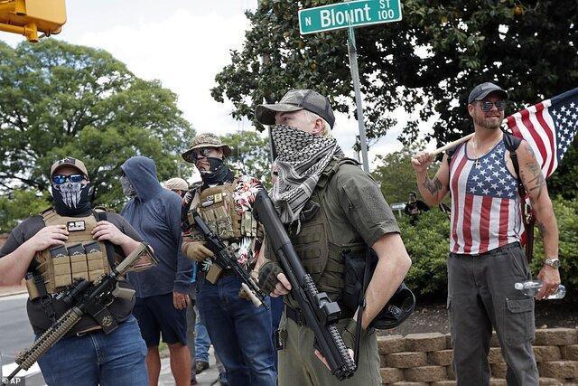 معترضان ضد قرنطینه آمریکا به خیابان ها ریختند