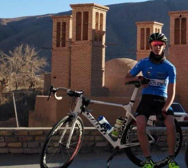 فوت رکابزن نوجوان یزدی تیم ملی، تصادف در حین تمرین