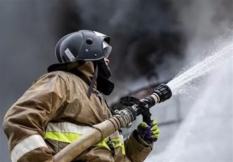 آتش سوزی در بیمارستان ویژه بیماران مبتلا به کرونا در مسکو