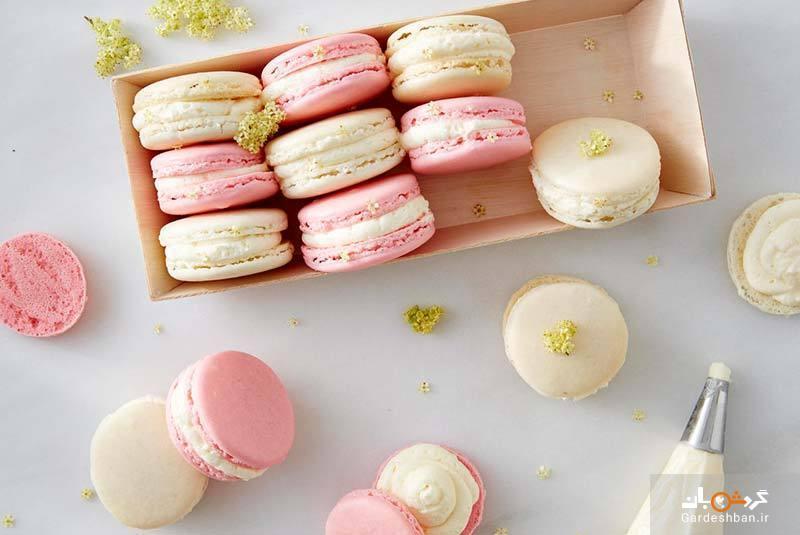ماکارون؛ شیرینی لذیذ فرانسوی مورد علاقه شکم گردان، عکس