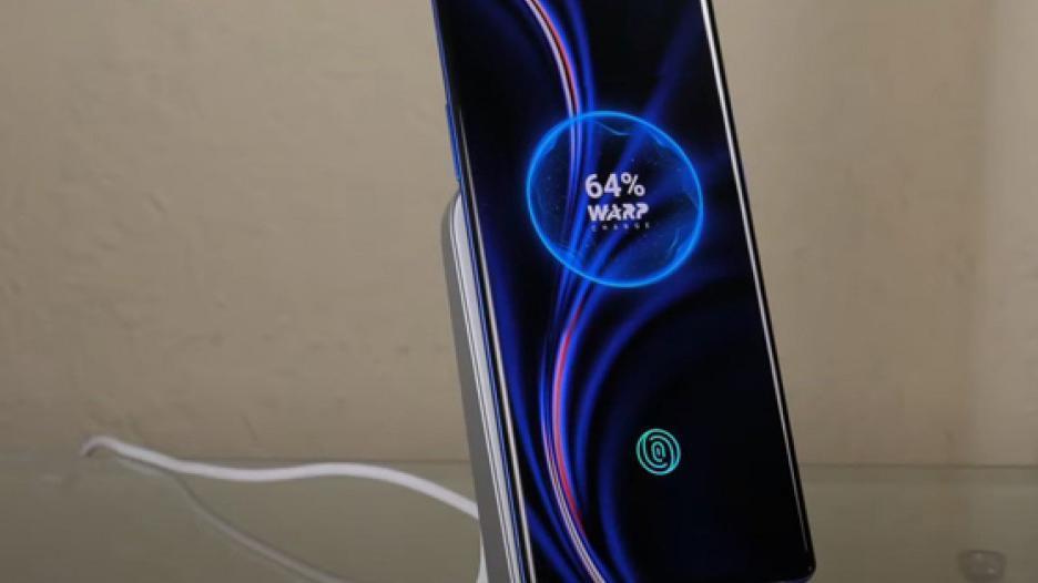 قیمت شارژر بی سیم Warp Charge 30 در هند معین شد