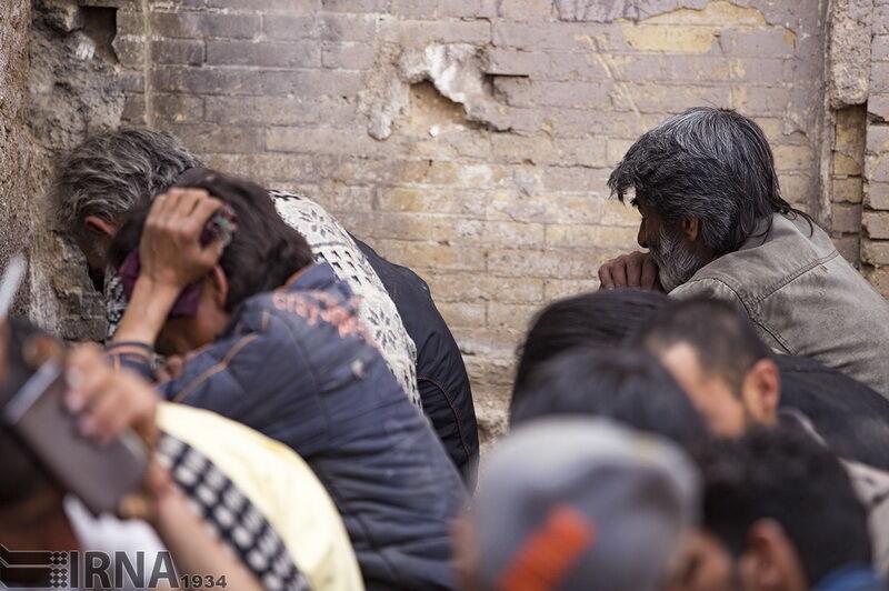 خبرنگاران جمع آوری حدود 300 معتاد متجاهر در زاهدان شروع شد