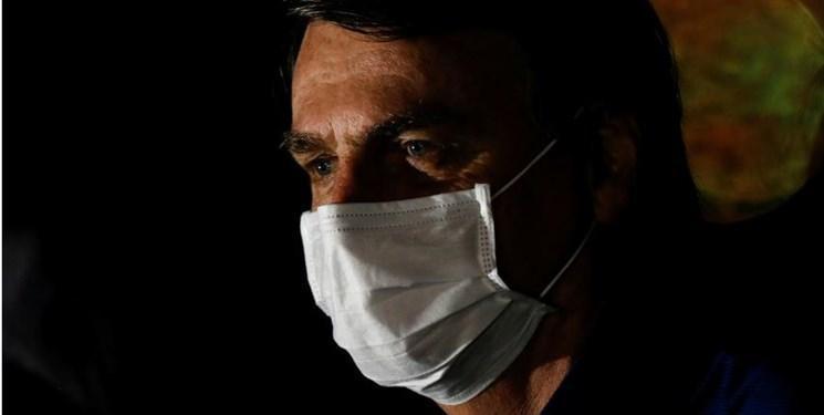 تست کرونای رئیس جمهور برزیل برای سومین بار مثبت اعلام شد