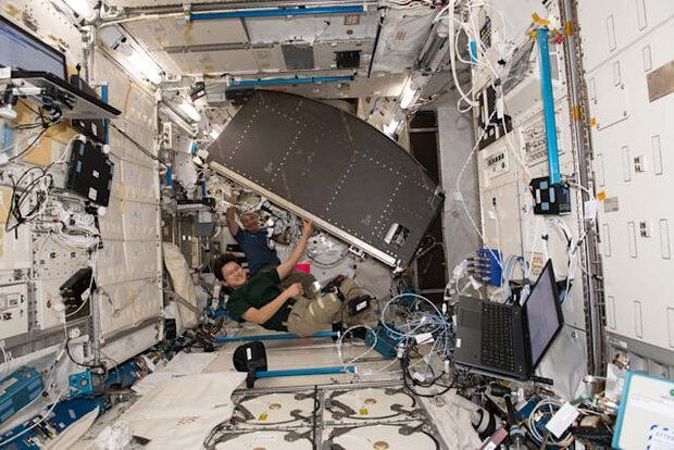 ناسا 11 قفسه مخصوص به ایستگاه فضایی بین المللی فرستاد