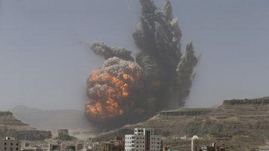 خبرنگاران جنگنده های ائتلاف سعودی 47 بار یمن را بمباران کردند
