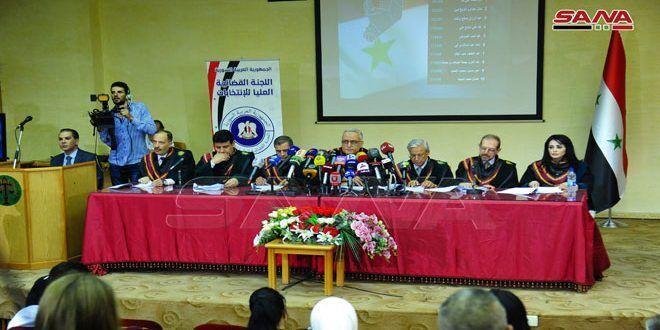 خبرنگاران نتایج انتخابات پارلمانی سوریه اعلام شد