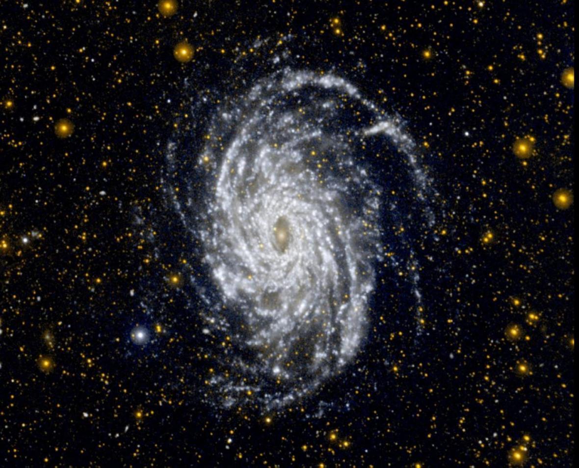 کشف بقایای یک تصادف باستانی در فضا