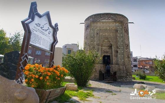 برج سه گنبد؛از دیدنی ترین جاذبه های تاریخی ارومیه، عکس