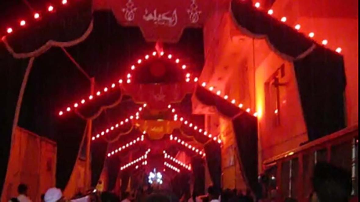 مراسم سوگواری سالار شهیدان در کاشان