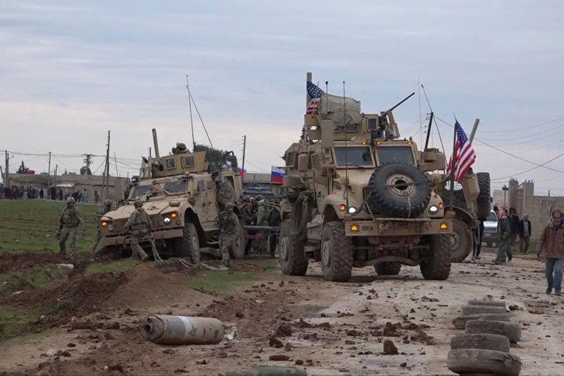 ببینید ، درگیری نیروهای نظامی آمریکا و روسیه در سوریه