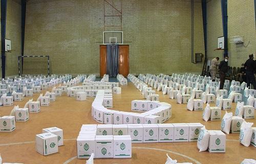 3000 بسته معیشتی از سوی گروه جهادی افسران ولایت بوشهر بین محرومان توزیع شد