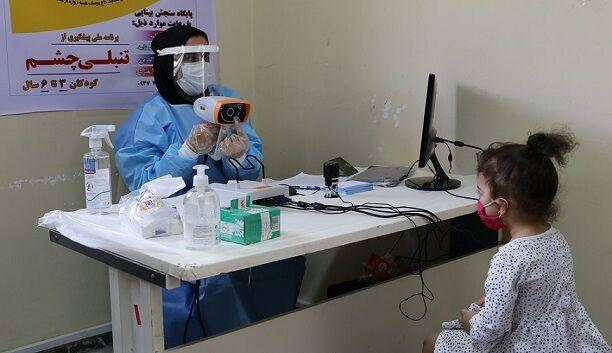 خبرنگاران 4028 کودک در بندرخمیر مورد غربالگری بینایی قرار می گیرند