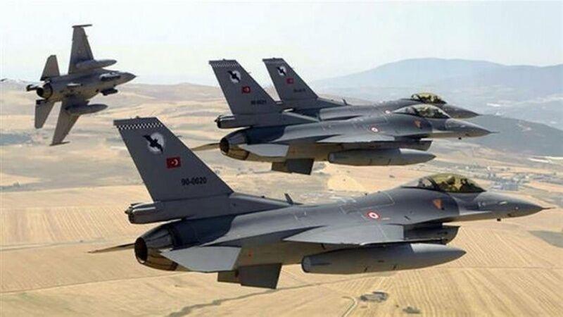 جنگنده های ترکیه بمباران شمال عراق را از سر گرفتند