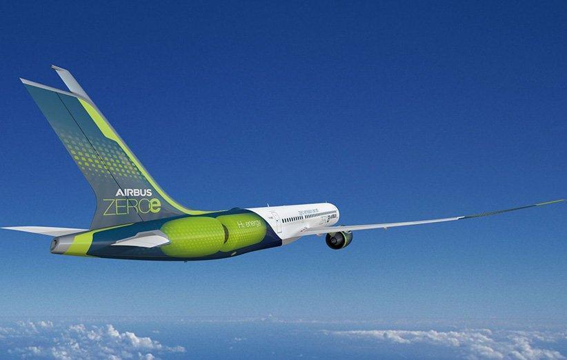 ایرباس پیل سوختی هواپیماهای هیدروژنی را توسعه می دهد