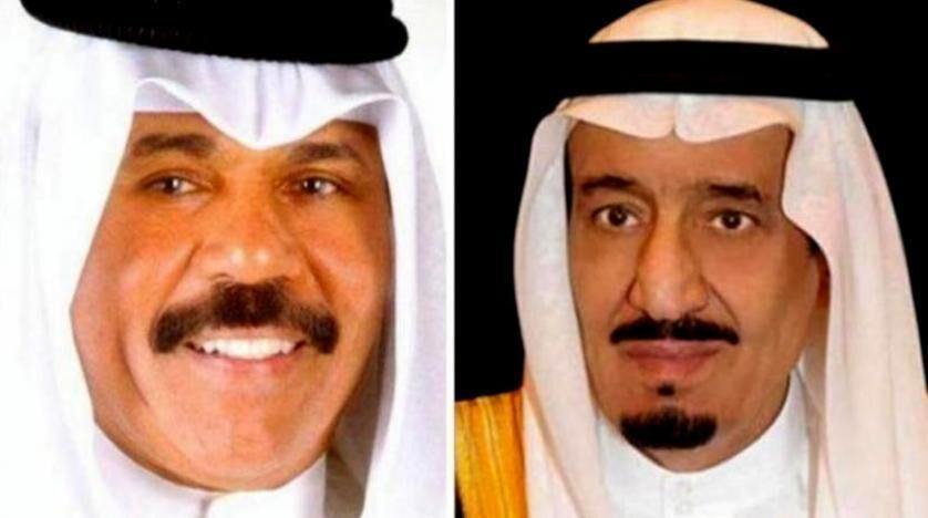پیغام امیر کویت به شاه سعودی