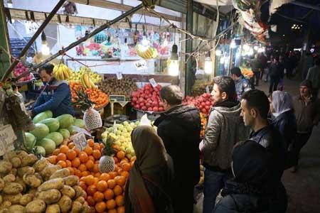 ثبات نسبی قیمت میوه و صیفی در هفته جاری