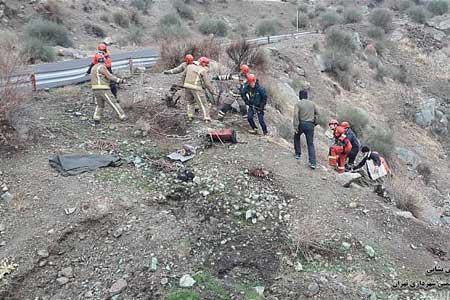 فردی که در کمتر از 24 ساعت دو بار نجات داده شد!