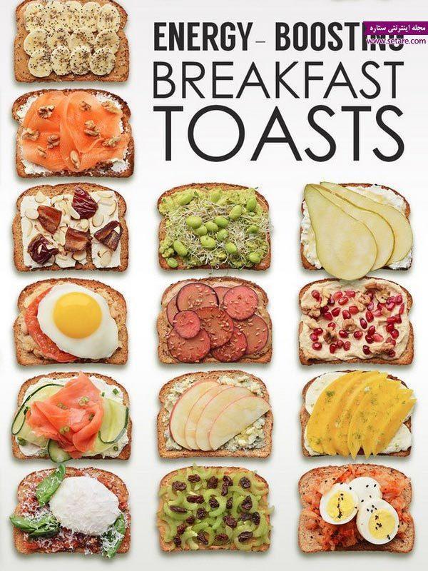 18 ایده برای بالا بردن انرژی بچه ها با صبحانه کامل و مقوی