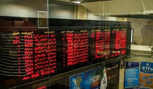 افت 24 هزار و 332 واحدی شاخص بورس در خاتمه معاملات امروز