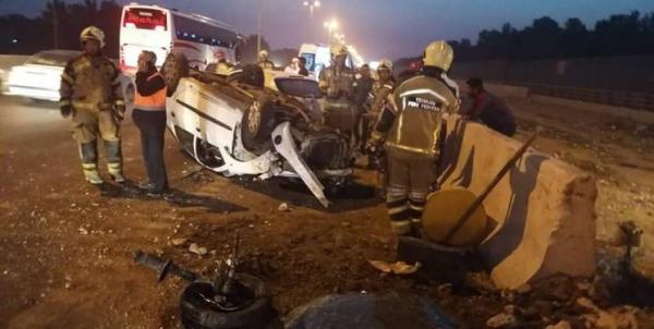 سه کشته و مصدوم در انحراف خودروی وانت در یاسوج
