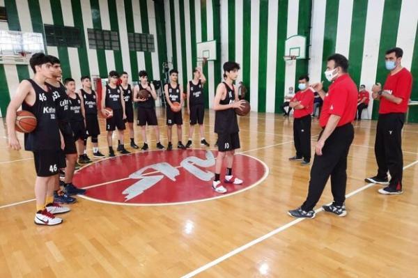 آمل میزبان دائمی اردوهای تیم ملی بسکتبال جوانان 2024 شد