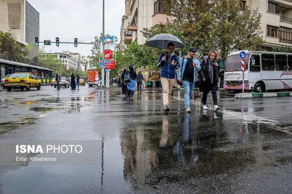 هشدار هواشناسی؛ رگبار و رعد و برق در 13 استان