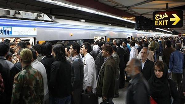 افزایش تعداد مسافر های متروی تهران به 800 هزار نفر