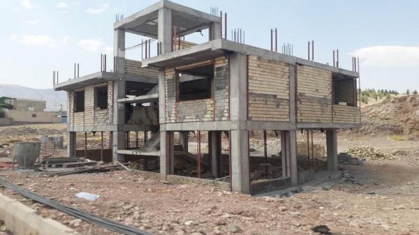 ساختمان های اداری گاز نواحی بدره و سیروان در حال احداث هستند